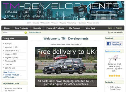 tm developments in Harlow